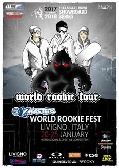 Time to register for 2018 Deejay XMasters World Rookie Fest in Livigno