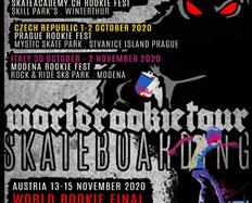 2020 World Rookie Tour Skateboard is announced - are you ready to rock with us?