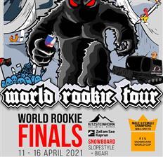World Rookie Tour Snowboard 2021 Finals & Provisional Calendar