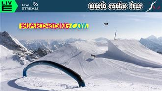 Live Stream for 2021 World Rookie Tour Snowboard Finals!