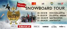 6th Zillertal VÄLLEY RÄLLEY hosted by Ride Snowboards - New Schedule for 2018/2019