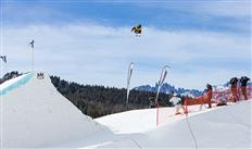 Hailey Langland and Eric Beauchemin win the Sprint U.S. Snowboarding Grand Prix Slopestyle Finals