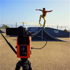 A personal cameraman for when you land that gnarly trick!