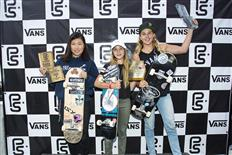 Alex Sorgente & Brighton Zeuner become Vans Park Series world champions
