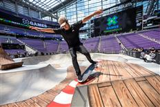 Alex Sorgente Wins His First X Games Gold in Men's Skateboard Park in Minneapolis