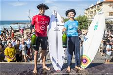 Anat Lelior and Andy Criere Claim 2019 Deeply Pro Anglet Titles