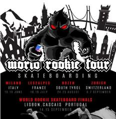 Black Yeti announces the World Rookie Tour Skateboarding!