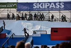 Black Yeti takes us to Italy for a new tour stop: World Rookie Rail Jam by Skipass