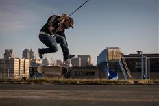 Blind skateboarder uses Detroit city home for stylish tricks