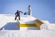 Blue Tomato Plan P – Slopestyle contest kick-off for snowboarders