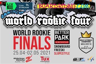 Boardriding.com ready to livestream 2021 World Rookie Tour finals!
