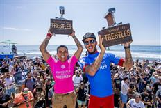 Brazilians Filipe Toledo and Silvana Lima dominated Hurley Pro and Swatch Pro Trestles 2017