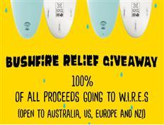 Bushfire Relief Giveaway - Win a Spooked Kooks Board