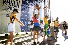 Carissa Moore and Gabriel Medina Win Inaugural Surf Ranch Pro!