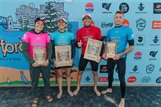 Carissa Moore & Leonardo Fioravanti Claim Victory at 2020 Sydney Surf Pro Challenger Series Event