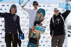 Champions crowned at the final Oakley Roof Battle of the 2016/17 QParks Snowboard Tour