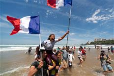Domination from Host Nation in Biarritz, Team France Crowned Longboard Team World Champion 2019