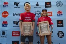 Ethan Hartge and Charli Hurst win the 2020 Sydney Surf Pro Junior