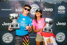 Finn McGill and Vahine Fierro Crowned 2017 WSL World Junior Champions