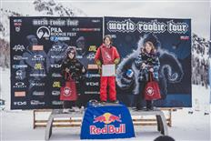 Finnish flag is waving at the 2018 Pila Rookie Fest by DEEJAY Xmasters