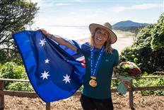 Fitzgibbons Wins Gold And Team Australia Secures Silver At UR ISA World Surfing Games In Japan