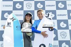 Heitor Mueller & Isabela Saldanha Win in Florianópolis, 3rd Stop of Oi Pro Junior Series 2019