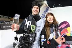 Onitsuka and Parrot win 2019 Air + Style FIS Big Air World Cup in Beijing