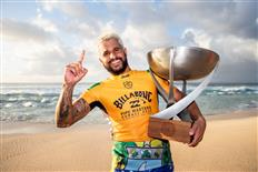 Italo Ferreira Claims Maiden Surfing World Title, Wins 2019 Billabong Pipe Masters