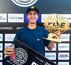 Ivan Monteiro takes the win in Chengdu, final stop of 2019 FISE World Series