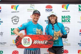 Jackson Baker & Kobie Enright Claim Victories at the Port Stephens Pro