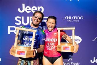 Johanne Defay and Filipe Toledo Win Jeep Surf Ranch Pro presented by Adobe