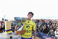 John John Florence claims victory at Meo Rip Curl Pro Portugal & WSL 2016 World Champion Title