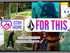 Join Volcom's global movement: #StayHomeForThis