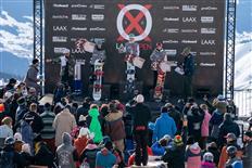 Julia Marino & Sebastien Toutant win LAAX OPEN 2020 Slopestyle titles