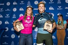 Julian Wilson and Courtney Conlogue Win Quiksilver Pro and Roxy Pro France 2018