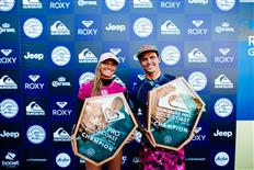 Julian Wilson and Lakey Peterson Win Quiksilver and Roxy Pro Gold Coast