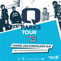 QParks Tour premiere at Snowpark Ehrwalder Alm: Junior Jam 2020!