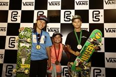 Kensuke Sasaoka & Kihana Ogawa on top spots at 2017 Vans Park Series Asia Continental Championships