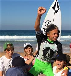 So stoked to Win the Junior Men's Volcom TCT National Championships today at North Narrabeen!!