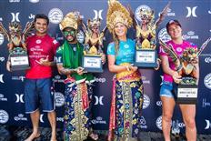 Lakey Peterson and Italo Ferreira Win Corona Bali Protected