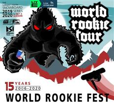 Last Call to 2020 World Rookie Fest Livigno, January 11 - 15