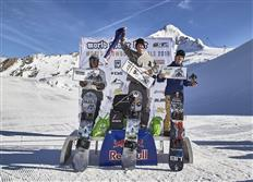 Mitchell Davern & Annika Morgan are the slopestyle winners of the 2019 World Rookie Snowboard Finals