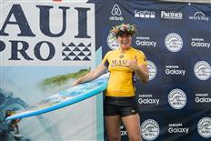 Newly crowned 2016 WSL Champion Tyler Wright victorious at Maui Women's Pro