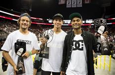 Nyjah Huston & Chris Joslin are the top two at the New Jersey SLS Nike SB World Tour stop