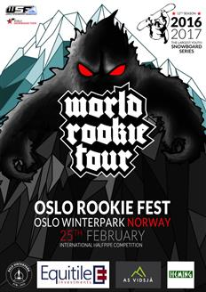 Oslo to host World Rookie Tour again this winter