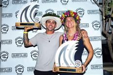 Paige Alms and Billy Kemper Win 2019 cbdMD Jaws Big Wave Championships