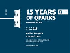 QParks are having a Birthday Party: 15 Years for Freestyle – save the date!