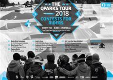 Riders get ready for QParks Snowboard Tour 2018!