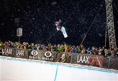 Queralt Castellet & Scotty James are LAAX OPEN 2020 Halfpipe Champs