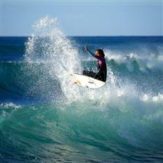 Awesome day of waves and adventure : )